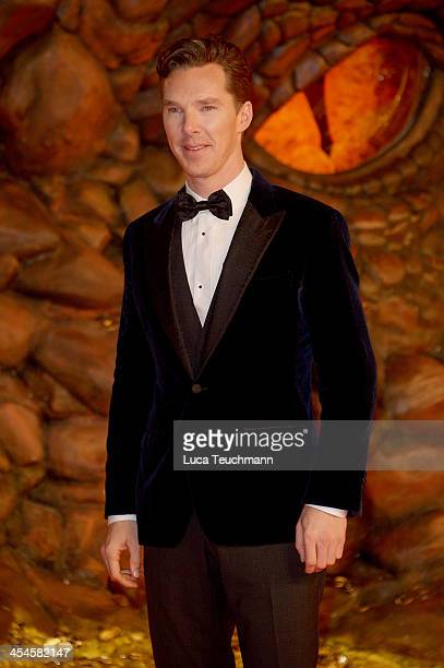 Benedict Cumberbatch attends the German premiere of the film 'The Hobbit: The Desolation Of Smaug' at Sony Centre on December 9, 2013 in Berlin,...