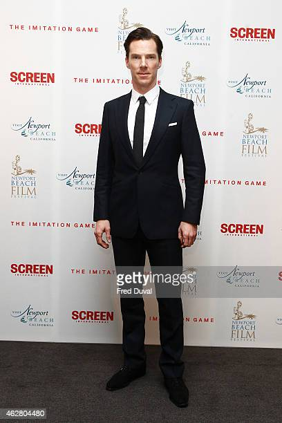 Benedict Cumberbatch attends 'The Imitation Game' preBAFTA reception at ME Hotel on February 5 2015 in London England