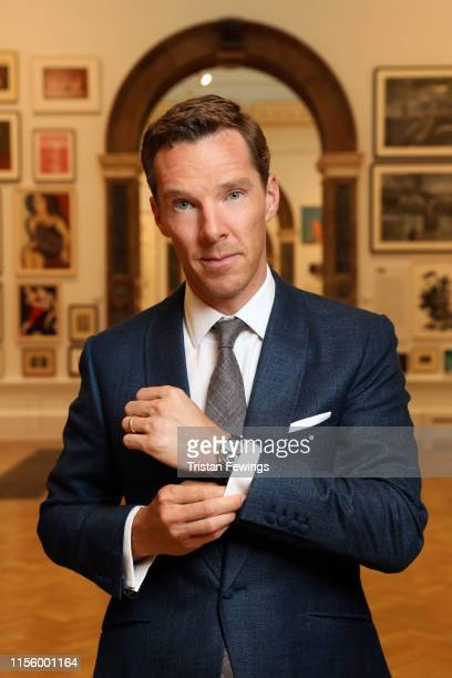 Benedict Cumberbatch attends the Jaeger-LeCoultre 'Art of Precision' Event with Letters Live at The Royal Academy on July 08, 2019 in London, England.