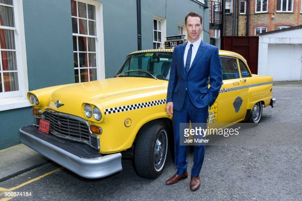 Benedict Cumberbatch attends the launch of 'Patrick Melrose' at Searcys Knightsbridge on May 9 2018 in London England