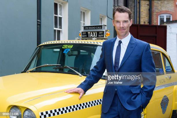 Benedict Cumberbatch attends the launch of 'Patrick Melrose' at Searcys Knightsbridge on May 9, 2018 in London, England.