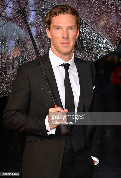 Benedict Cumberbatch attends the opening night gala screening of The Imitation Game during the 58th BFI London Film Festival at Odeon Leicester...