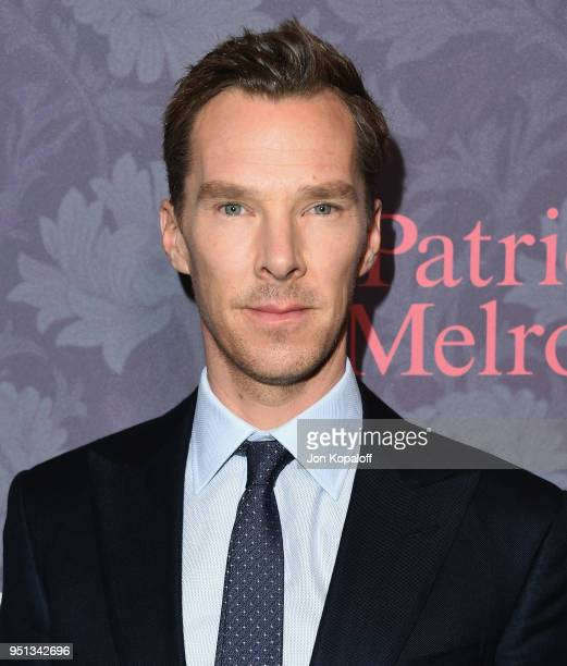 "Benedict Cumberbatch attends the premiere of Showtime's ""Patrick Melrose"" at Linwood Dunn Theater on April 25, 2018 in Los Angeles, California."