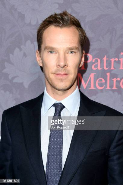 Benedict Cumberbatch attends the premiere of Showtime's 'Patrick Melrose' at Linwood Dunn Theater on April 25 2018 in Los Angeles California