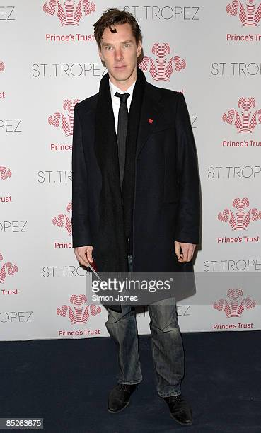 Benedict Cumberbatch attends The Prince's Trust Spring Ball supported by St Tropez at The Hurlingham Club on March 5 2009 in London England