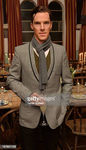 Benedict Cumberbatch attends the Soho House and Grey Goose party to celebrate the CineCity film festival on November 13 2013 in Brighton England...