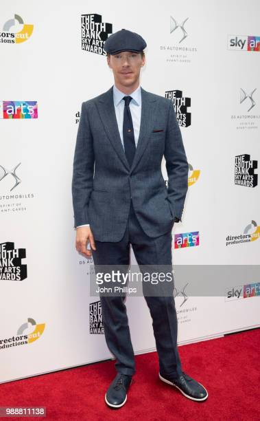 Benedict Cumberbatch attends The Southbank Sky Arts Awards 2018 at The Savoy Hotel on July 1 2018 in London England