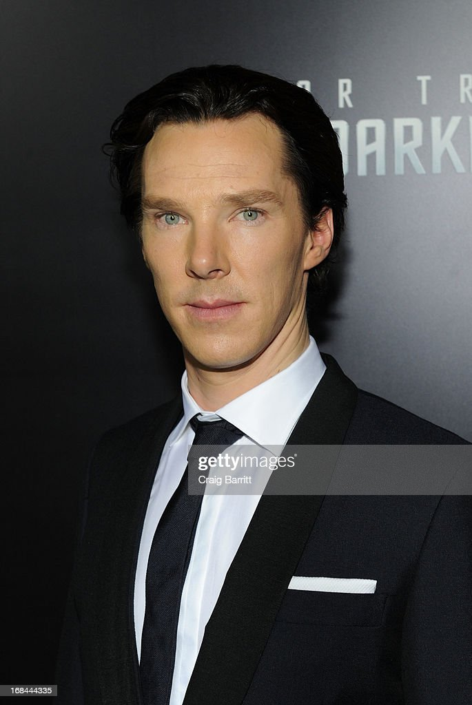 Benedict Cumberbatch attends the 'Star Trek Into Darkness' New York Special Screening at AMC Loews Lincoln Square on May 9, 2013 in New York City.