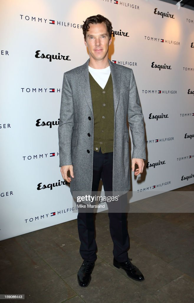 Benedict Cumberbatch attends the Tommy Hilfiger & Esquire event at the London Collections: MEN AW13 at on January 7, 2013 in London, England.