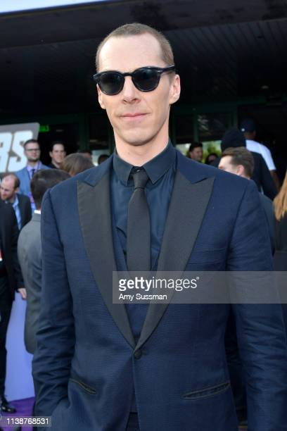 "Benedict Cumberbatch attends the world premiere of Walt Disney Studios Motion Pictures ""Avengers: Endgame"" at the Los Angeles Convention Center on..."