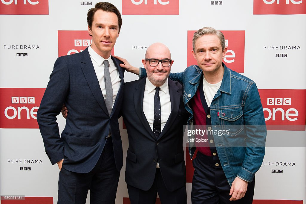 'Sherlock' Screening Of The 2016 Christmas Special : News Photo