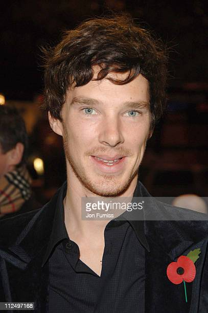 Benedict Cumberbatch during 'Starter for 10' London Premiere Inside Arrivals at Coronet Cinema in London Great Britain