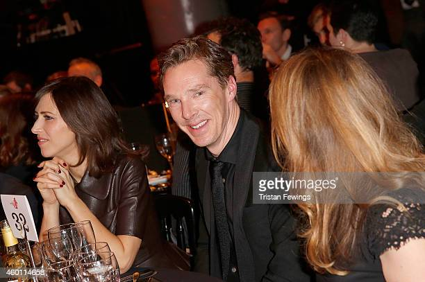Benedict Cumberbatch during The Moet British Independent Film Awards at Old Billingsgate Market on December 7 2014 in London England