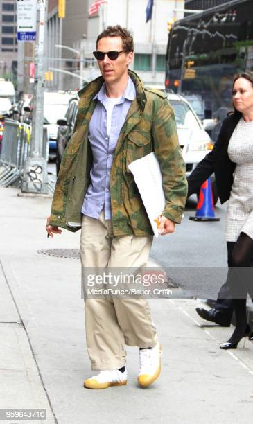 Benedict Cumberbatch is seen on May 17 2018 in New York City