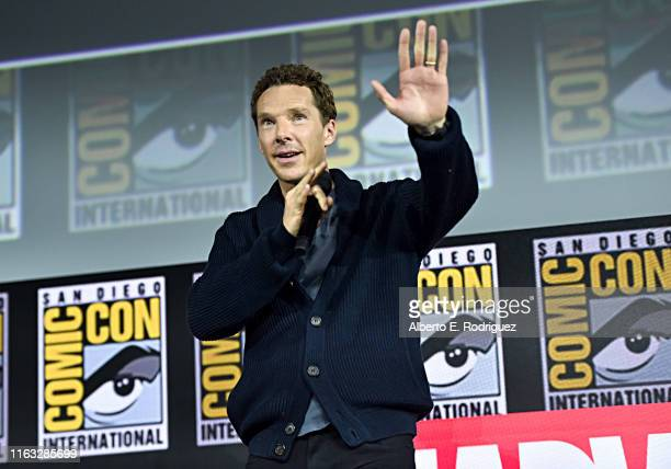 Benedict Cumberbatch of Marvel Studios' 'Doctor Strange in the Multiverse of Madness' at the San Diego Comic-Con International 2019 Marvel Studios...