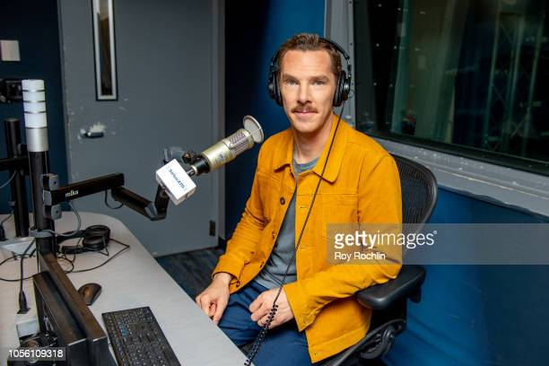 Benedict Cumberbatch visits SiriusXM Studios on November 1 2018 in New York City