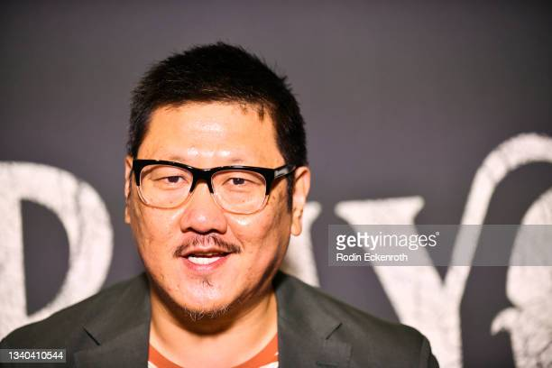 """Benedict Wong attends the Los Angeles Premiere of Focus Features' """"Blue Bayou"""" at DGA Theater Complex on September 14, 2021 in Los Angeles,..."""