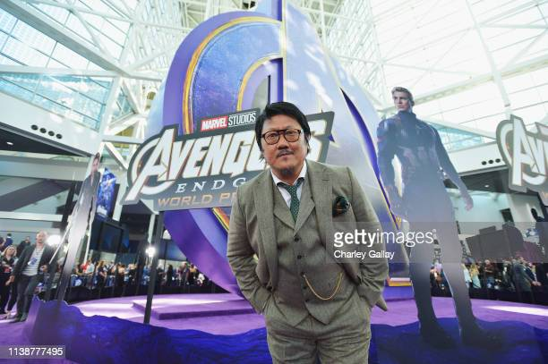 Benedict Wong attends the Los Angeles World Premiere of Marvel Studios' Avengers Endgame at the Los Angeles Convention Center on April 23 2019 in Los...