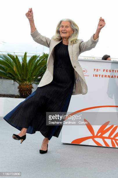 "Benedicta Sanchez Vila attends the photocall for ""Viendra Le Feu"" during the 72nd annual Cannes Film Festival on May 21, 2019 in Cannes, France."