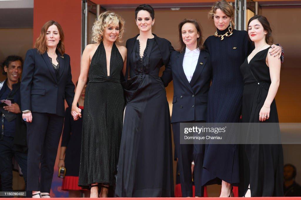 """""""Portrait Of A Lady On Fire (Portrait De La Jeune Fille En Feu)"""" Red Carpet - The 72nd Annual Cannes Film Festival : Nieuwsfoto's"""