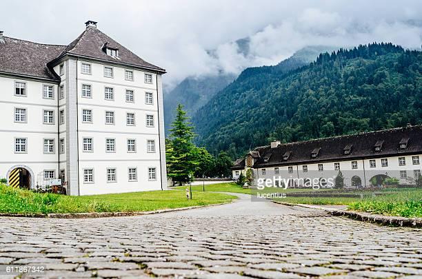 Benedictine Abbey at Engelberg, Switzerland.