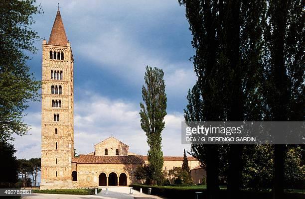 Benedictine Abbey of Pomposa, 9th century, Emilia-Romagna, Italy.