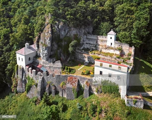 Benedictine abbey Skalka in the rock, Slovakia