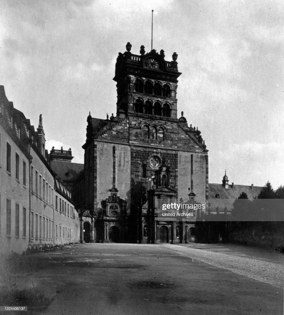 Benedictine Abbey St Matthias At Trier Germany 1930s News Photo Getty Images