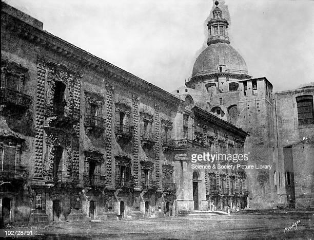 Benedictine Convent Catania Sicily Italy 1846 Benedictine Convent Catania Sicily Italy 1846 Calotype by Reverend George Wilson Bridges Bridges went...
