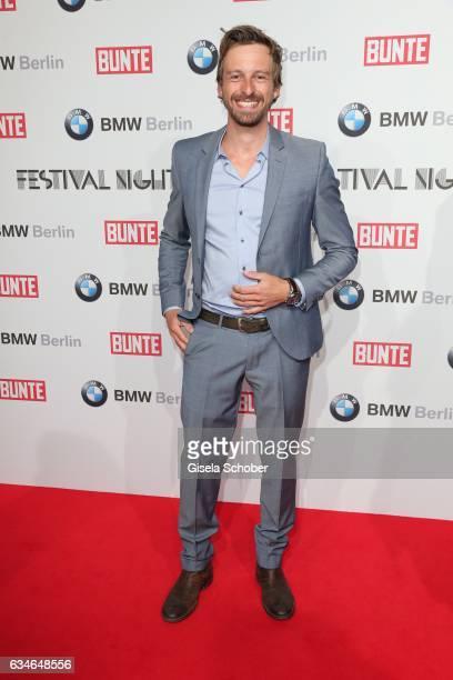 Benedikt Blaskovic during the BUNTE BMW Festival Night during the 67th Berlinale International Film Festival Berlin at restaurant 'Gendarmerie' on...