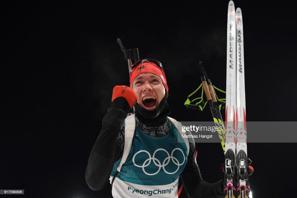 Biathlon - Winter Olympics Day 3 : News Photo