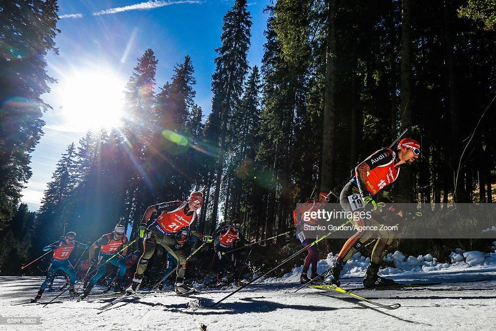 IBU Biathlon World Cup - Men's and Women's Pursuit