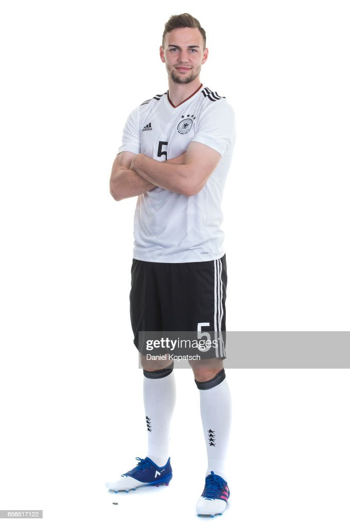 Benedikt Gimber poses during the Germany U20 Team Presentation on March 22, 2017 in Homburg, Germany.