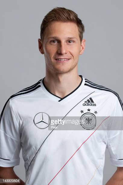 Benedikt Hoewedes of Germany poses during a national team photocall on November 14 2011 in Hamburg Germany