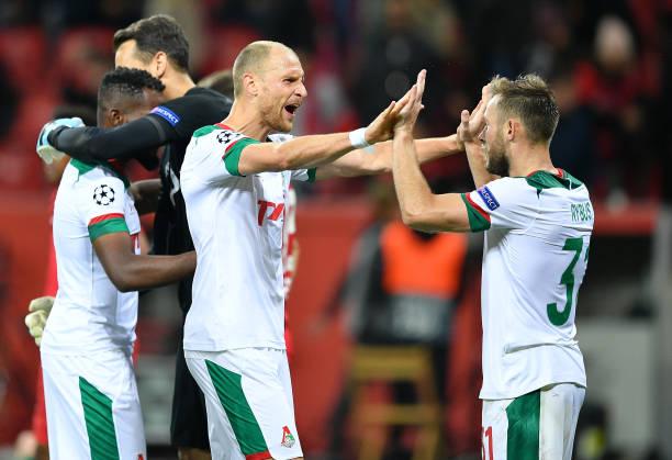 DEU: Bayer Leverkusen v Lokomotiv Moskva: Group D - UEFA Champions League