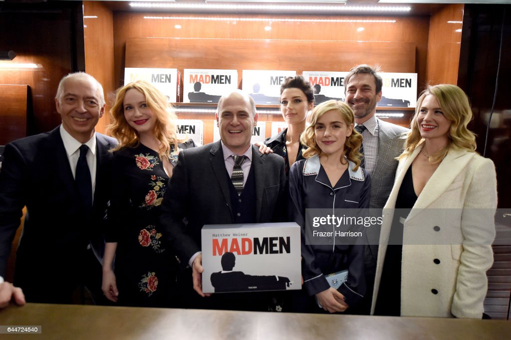 "Launch For Matthew Weiner's Book ""Mad Men"" : News Photo"