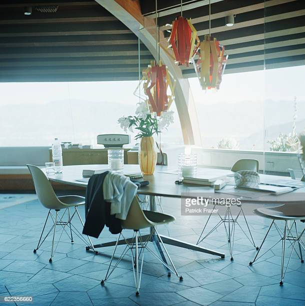 Eames Table and Chairs in Dining Area