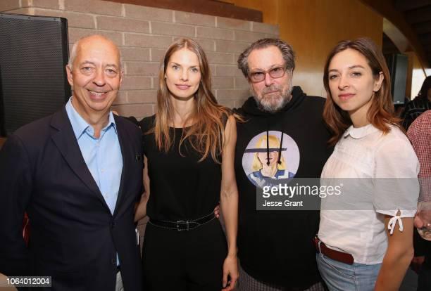 Benedikt Taschen Louise Kugelberg Julian Schnabel and Charlotte Taschen attend a Brunch Celebrating The Release of 'At Eternity's Gate' on November...