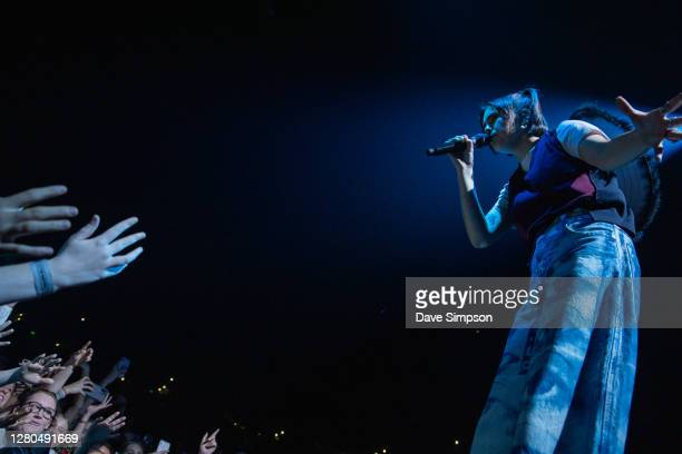 Benee performs at Spark Arena on October 16, 2020 in Auckland, New Zealand.