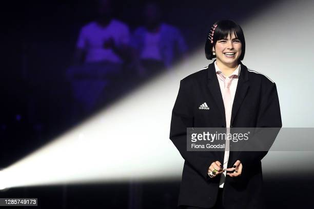 Benee wins Single of the Year at the Aotearoa Music Awards at Spark Arena on November 15, 2020 in Auckland, New Zealand.