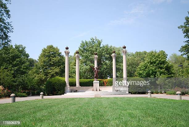 beneficence statue - indiana stock pictures, royalty-free photos & images