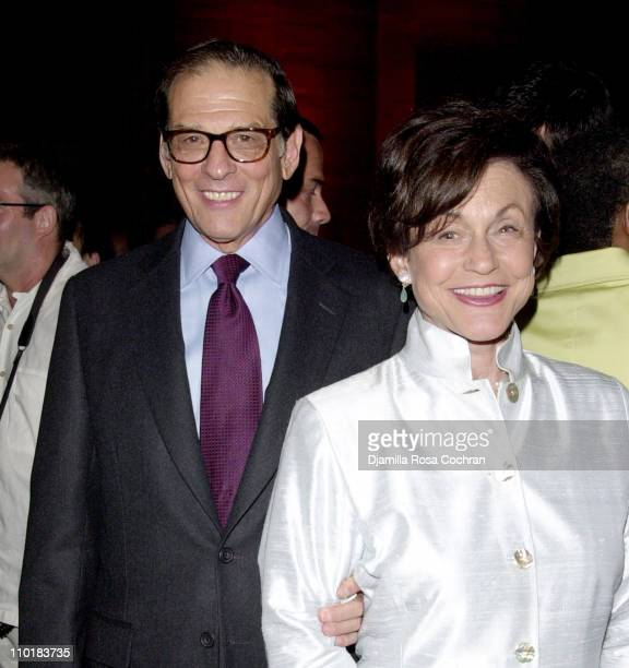"""Benefit Co-Chair Robert Caro and Ina Caro during Friends of the High Line Party to Celebrate """"Designing the High Line"""" at Vanderbilt Hall, Grand..."""