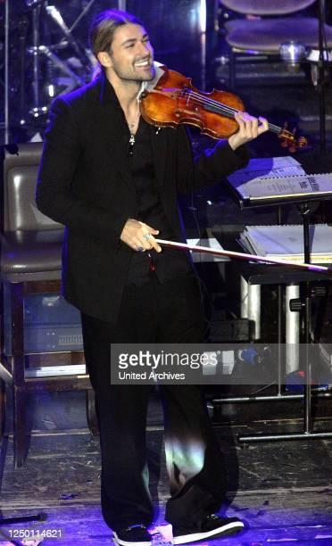 Benefiz-Gala in Köln 2008 - Musikalischer Gast: Der deutsche Geiger David Garrett.