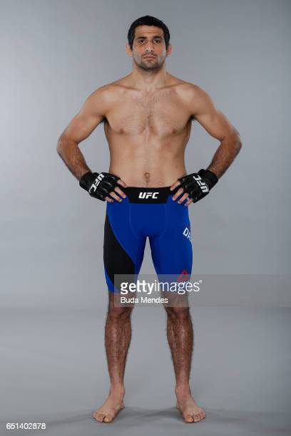 Beneil Dariush poses for a portrait during a UFC photo session at Gran Marquise Hotel on March 08 2017 in Fortaleza Brazil