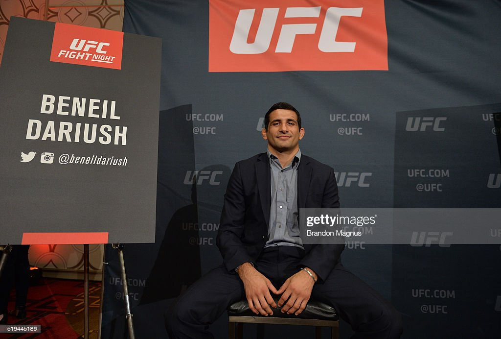 UFC 199: Rockhold v Weidman 2: Los Angeles Media Day : News Photo