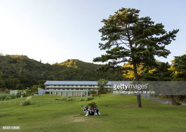 Benesse house hotel Seto Inland Sea Naoshima Japan on August 24 2017 in Naoshima Japan