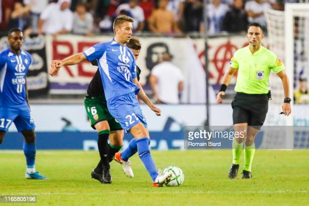Benet Jessy of Grenoble during the Ligue 2 match between Grenoble and Lens at Stade des Alpes on September 2 2019 in Grenoble France