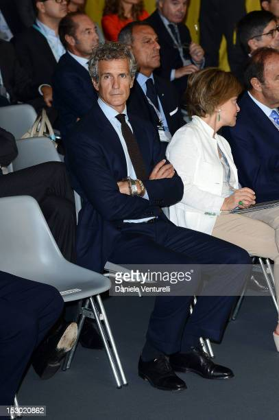 Benetton Chairman Alessandro Benetton attends the Technogym Village Opening and Wellness Congress on September 29 2012 in Cesena Italy