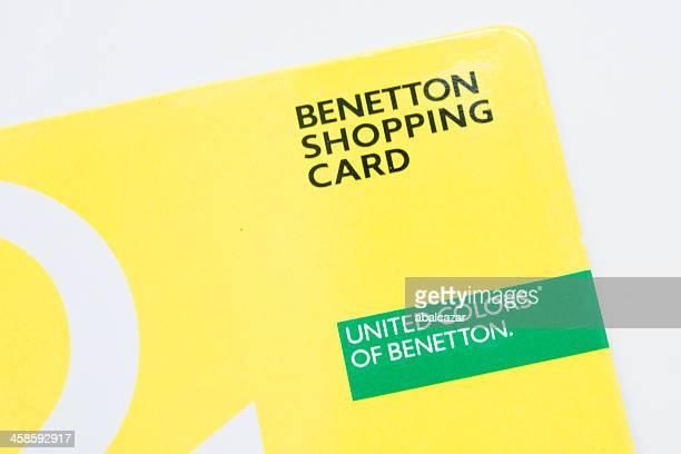 Benetton carte de shopping