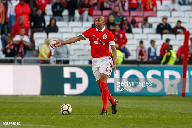 SL Benfcas Defender Luisao from Brazil during the Premier League 2017/18 match between SL Benfica and Moreirense FC at Estadio da Luz on May 13 2018...
